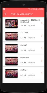 Video player App: Free HD Video player for Android screenshot 2