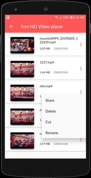Video player App: Free HD Video player for Android screenshot 3