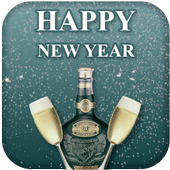 New Year Gretings Card 2020 icon