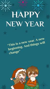 New Year Gretings Card 2020 poster