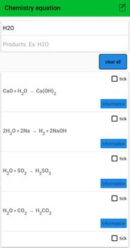 Periodic Table - Mini Chemistry and equations syot layar 7