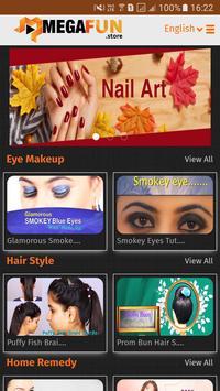 Ooredoo MEGAFUN - Beauty & Skincare, Makeup Tips screenshot 1