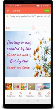 Quotes Creator screenshot 1