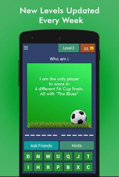 Football Game Trivia/Quiz - Guess Football Players screenshot 3