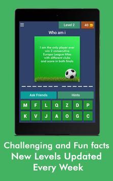 Football Game Trivia/Quiz - Guess Football Players screenshot 10