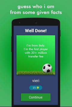 Football Game Trivia/Quiz - Guess Football Players screenshot 1