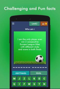 Football Game Trivia/Quiz - Guess Football Players screenshot 2