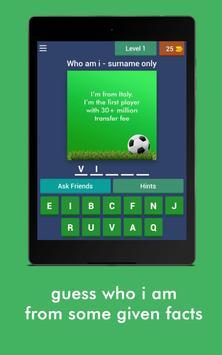 Football Game Trivia/Quiz - Guess Football Players screenshot 6