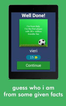 Football Game Trivia/Quiz - Guess Football Players screenshot 9