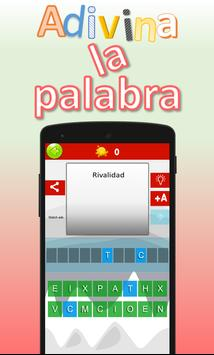 Adivina la palabra. Vocabulario español screenshot 3