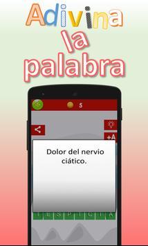 Adivina la palabra. Vocabulario español screenshot 4