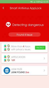 Smart Antivirus AppLock screenshot 1