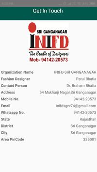 INIFD- Sri Ganganagar screenshot 3