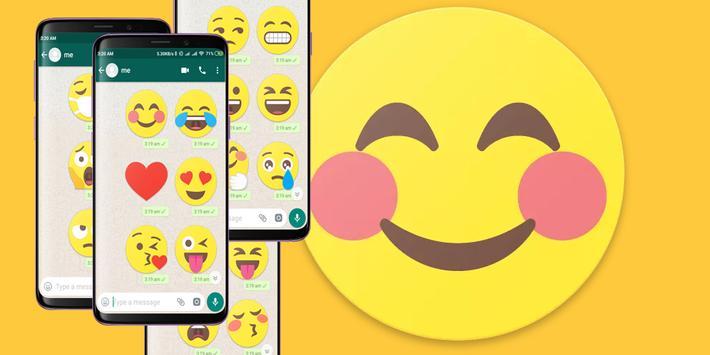 Bigmoji HD WhatsApp Stickers poster