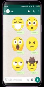 Bigmoji HD WhatsApp Stickers screenshot 4