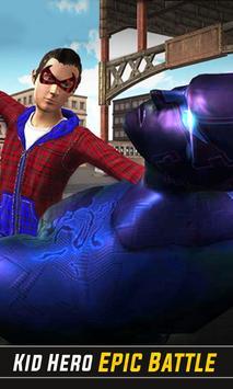 Flying Spider Boy: Superhero Training Academy Game poster