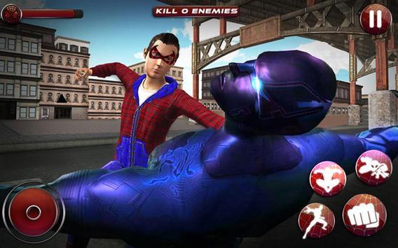 Flying Spider Boy: Superhero Training Academy Game screenshot 10