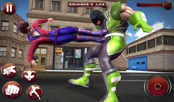 Flying Spider Boy: Superhero Training Academy Game screenshot 13