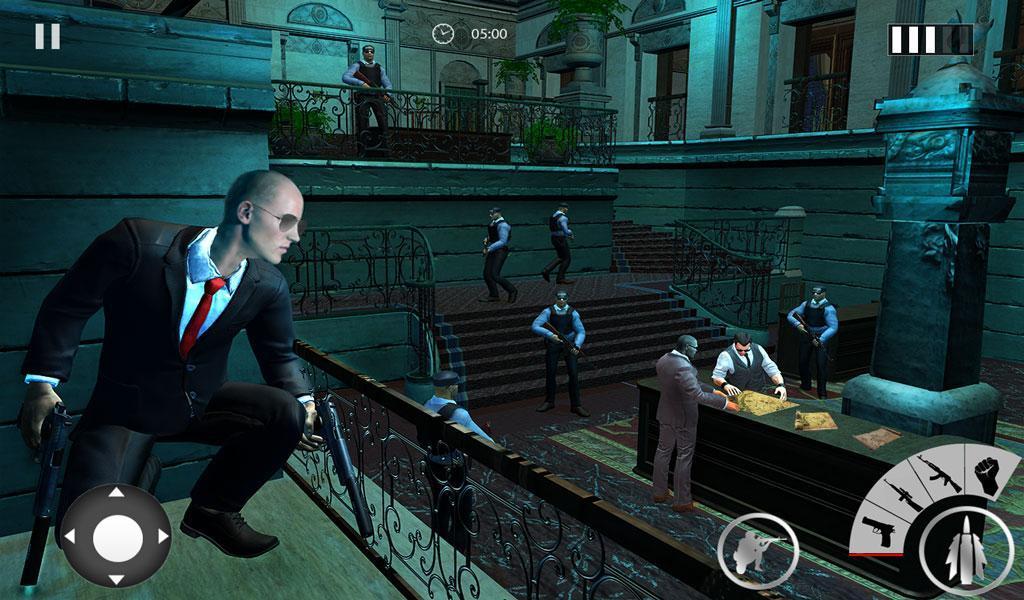 Secret Agent Spy Game: Hotel Assassination Mission for