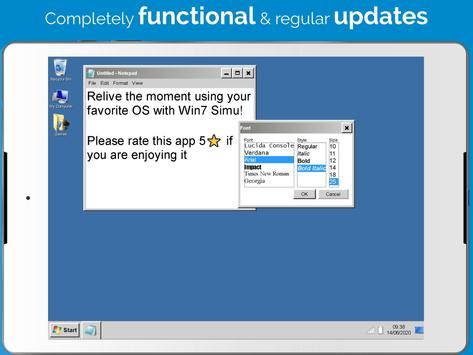 Win7 Simu screenshot 7