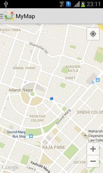 Map screenshot 11