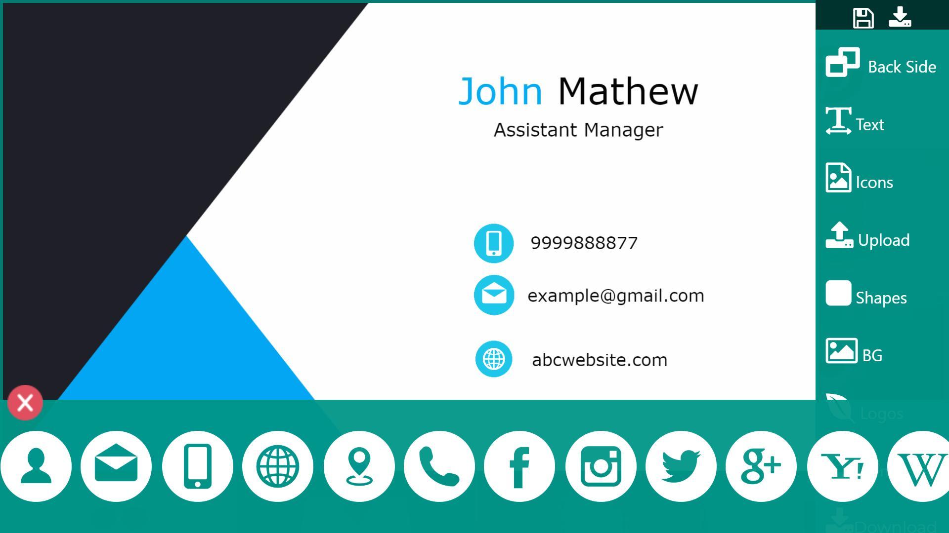 Visitenkarten Erstellen Gestalten Drucken App 2019 Für