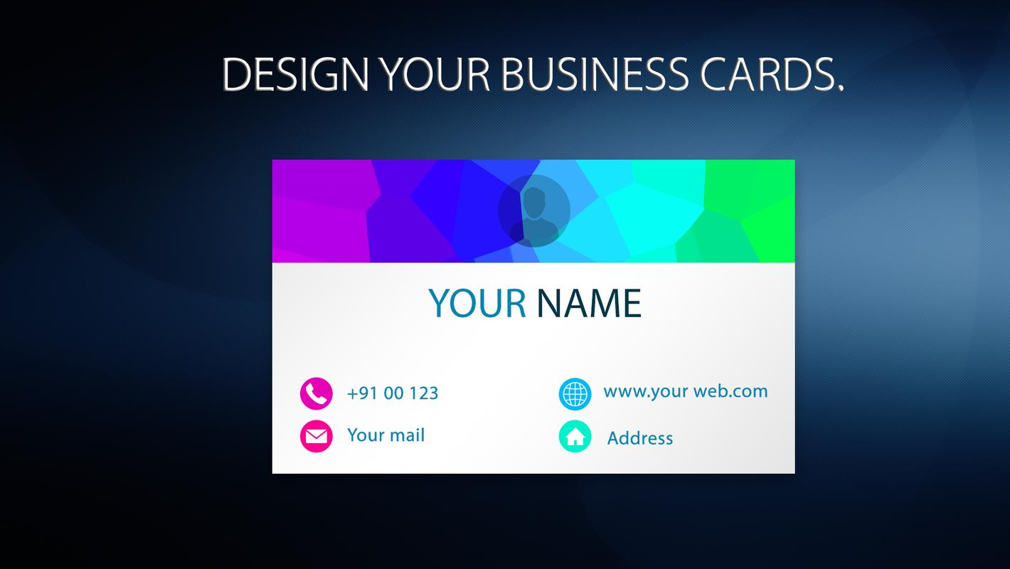 Visiting Card With Free Logo Maker For Android Apk Download