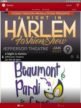 Beaumont Events screenshot 8