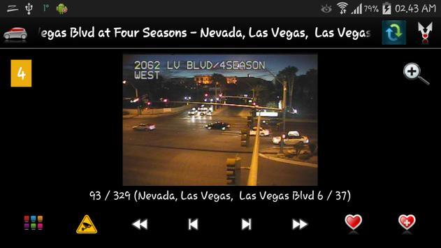 Cameras Nevada and Las Vegas screenshot 3