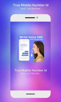 Write Massage By Voice  Voice Text msg poster