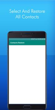 Deleted Sim Contacts Recovery App screenshot 2