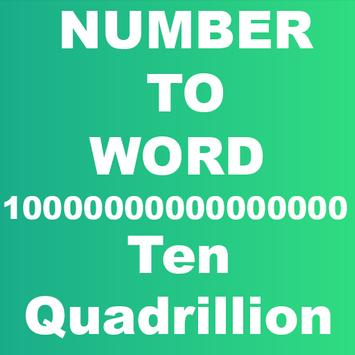 Number to Word Converter poster