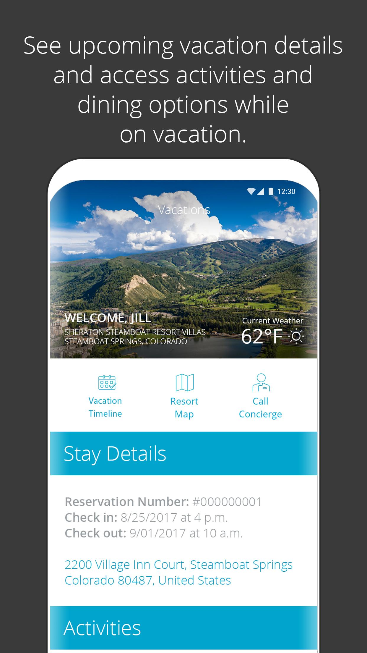 Sheraton Vacation Club for Android  APK Download