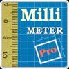 Millimeter Pro - screen ruler, protractor, level ikona