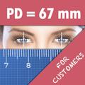 Pupil Distance Meter   Custom PD Meter Frame TryOn