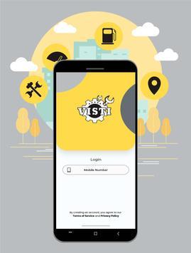 Visti - Bike Service & Car Service App poster