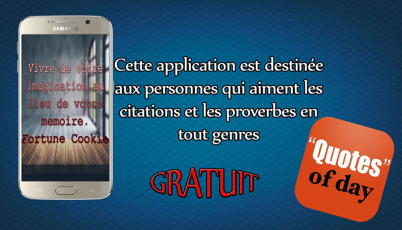 Quotes Of Day Citation Français For Android Apk Download