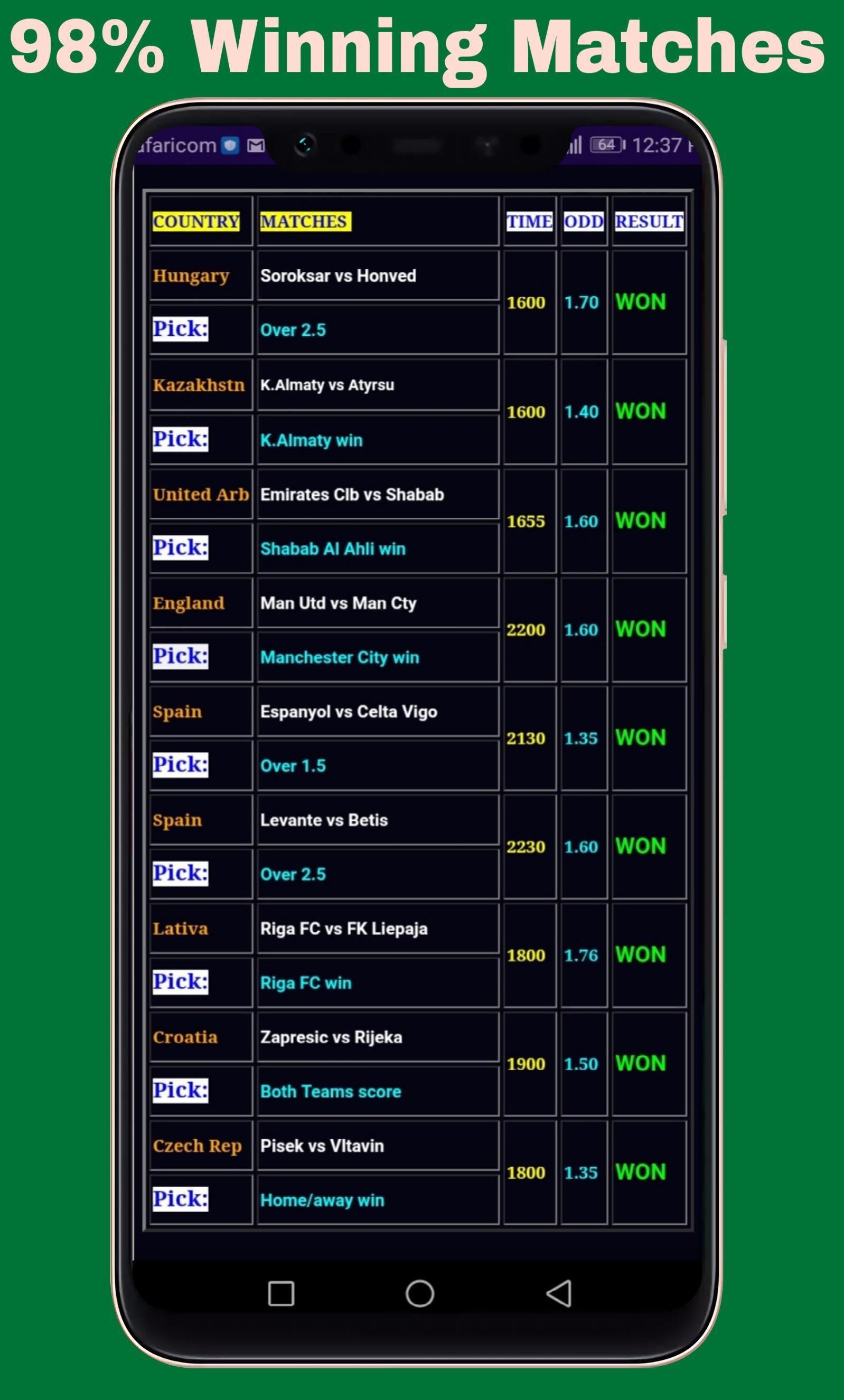 everyday 1 betting tip apk
