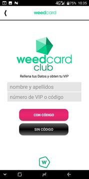 Weedcard screenshot 2