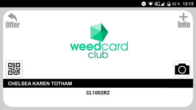 Weedcard screenshot 3