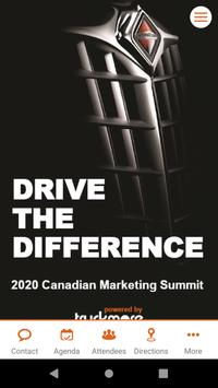 2020 Canadian Marketing Summit poster