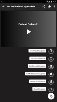 Fast and Furious Ringtone free screenshot 2