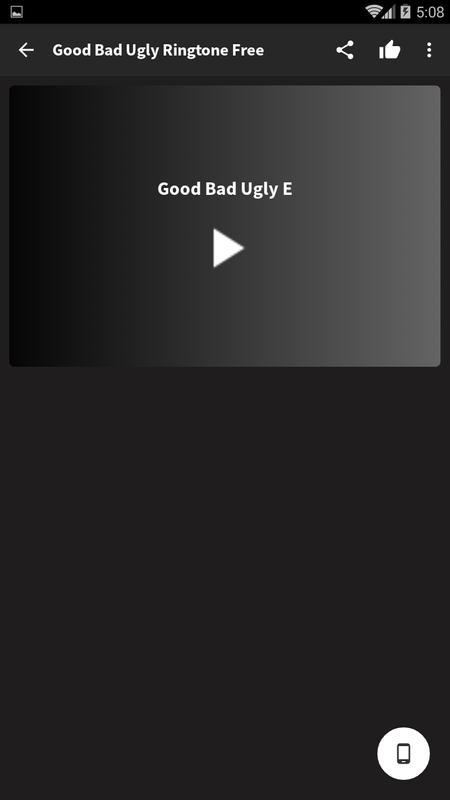 the good the bad and the ugly ringtone for samsung