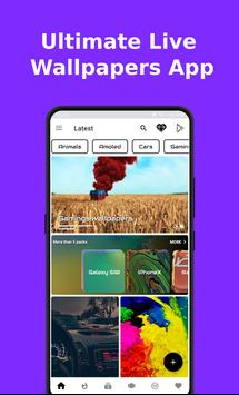 Ultimate Live Wallpapers App (GIF+Video+Image) poster