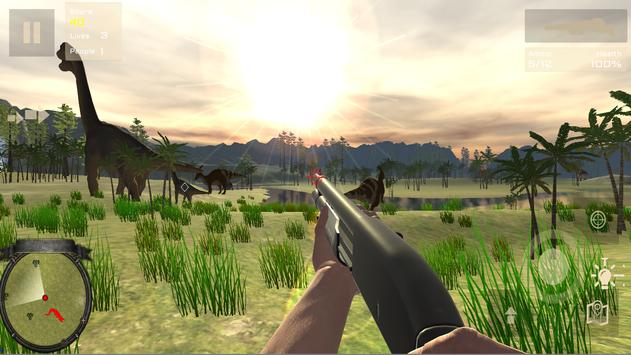 Dinosaur Hunting Patrol 3D screenshot 2
