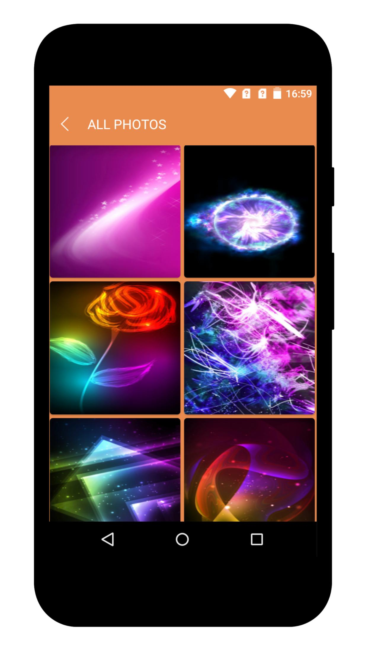 Glowing Wallpaper 4k Vivid Vibrant Backgrounds For Android Apk Download