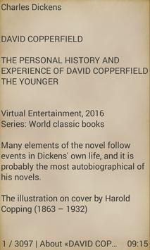 David Copperfield by Dickens screenshot 1
