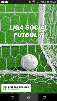 Liga Social F7 - Las Encinas poster