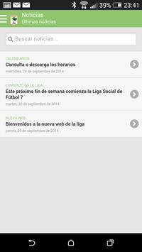 Liga Social F7 - Las Encinas screenshot 1