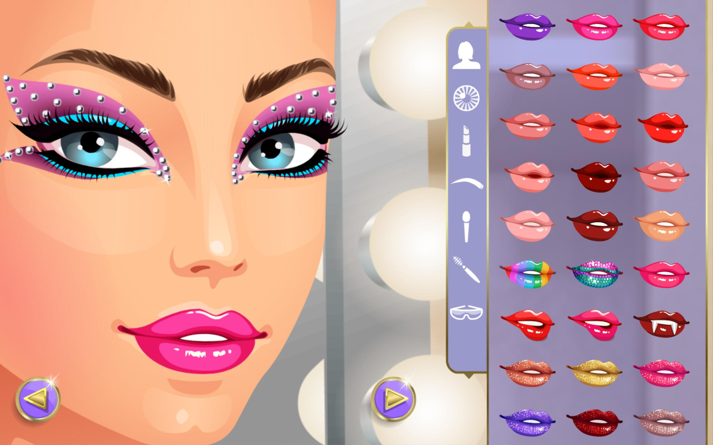 Girls Dressup And Makeup Games App For